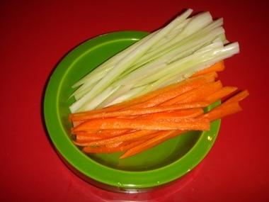 sedano e carote