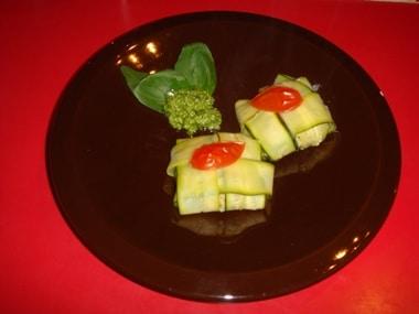 fagottini con salsa