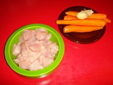Pollo carote zenzero
