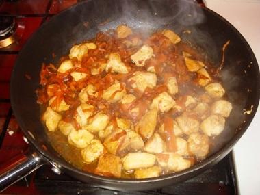 Ricetta pollo zenzero e carote