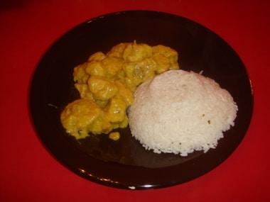 ricetta curry e pollo