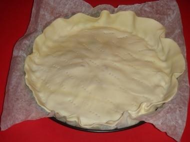 ricetta torta al radicchio