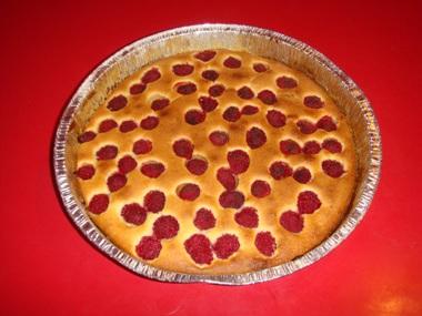 torta ai lamponi
