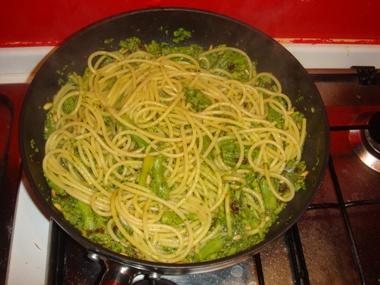 Bucatini e broccoli