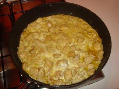 curry con pollo e yogurt