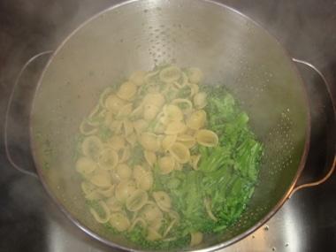 orecchiette e broccoli
