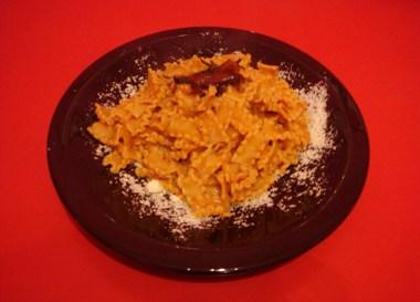 zucca e pasta