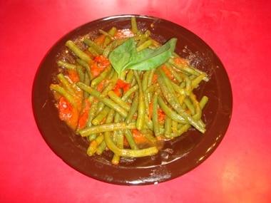 ricetta fagiolini al pomodoro