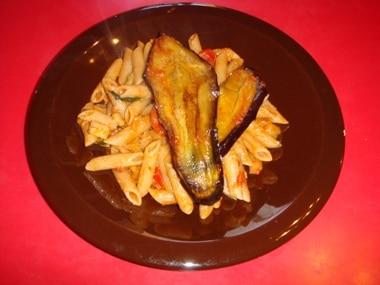 ricetta pasta con melanzane