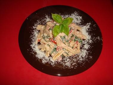 Pasta pomodorini e ricotta