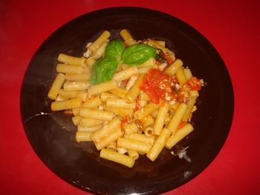 ricetta pasta con triglie