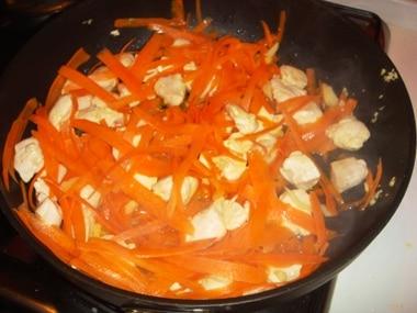 Ricette pollo carote e zenzero
