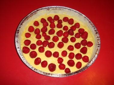 ricetta torta ai lamponi